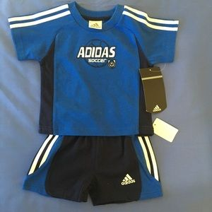 Adidas soccer outfit